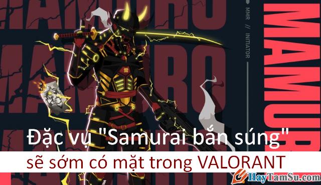 """Valorant: Người dùng Reddit giới thiệu đặc vụ """"Samurai bắn súng"""""""